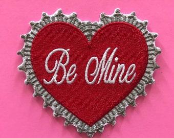 Be mine valentines heart