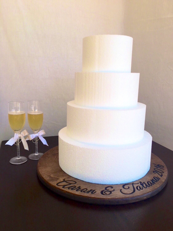 Wedding cake stand Wedding decor Cake stand Rustic