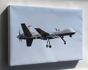 Canvas 24x36; Mq-9 Reaper P2