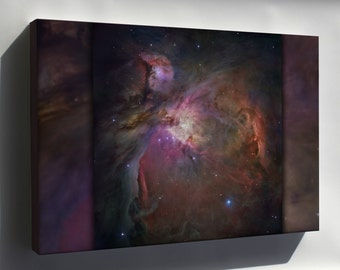 Canvas 24x36; Orion Nebula Hubble Space Telescope