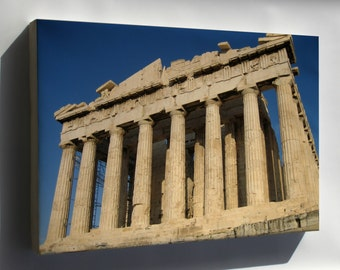 Canvas 16x24; Parthenon