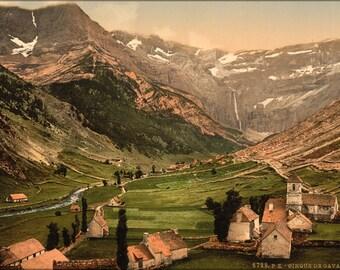 16x24 Poster; Cirque De Gavarnie Pyrenees-Atlantiques, France 1890