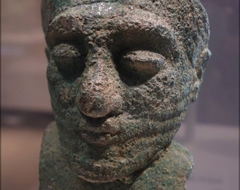 16x24 Poster; Head Of A Dignitary, Iran, About 2000 Bc, Arsenical Copper Cincinnati Art Museum Dsc04606