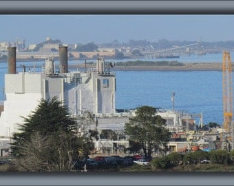 16x24 Poster; Humboldt Bay Nuclear Power Plant As Seen From Humboldt Hill