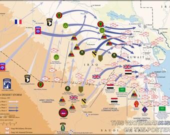 16x24 Poster; Operation Desert Storm