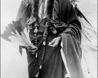 16x24 Poster; Chief Quanah Parker Of The Kwahadi Comanche