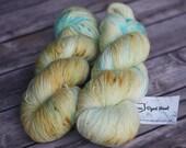 Hand Dyed Yarn - Twist Sock - Goldfish