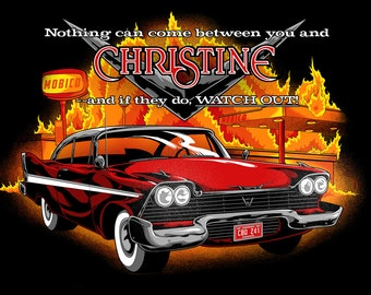 Christine Movie Vintage Image T-shirt