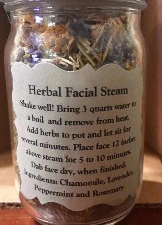 herbs for facial steam