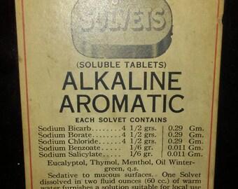 Vintage pharmacy bottle.