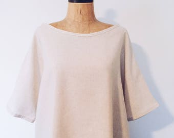 Womens Linen Top Sunday Fashioner