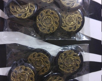 Gorgeous Italian resin buttons 12
