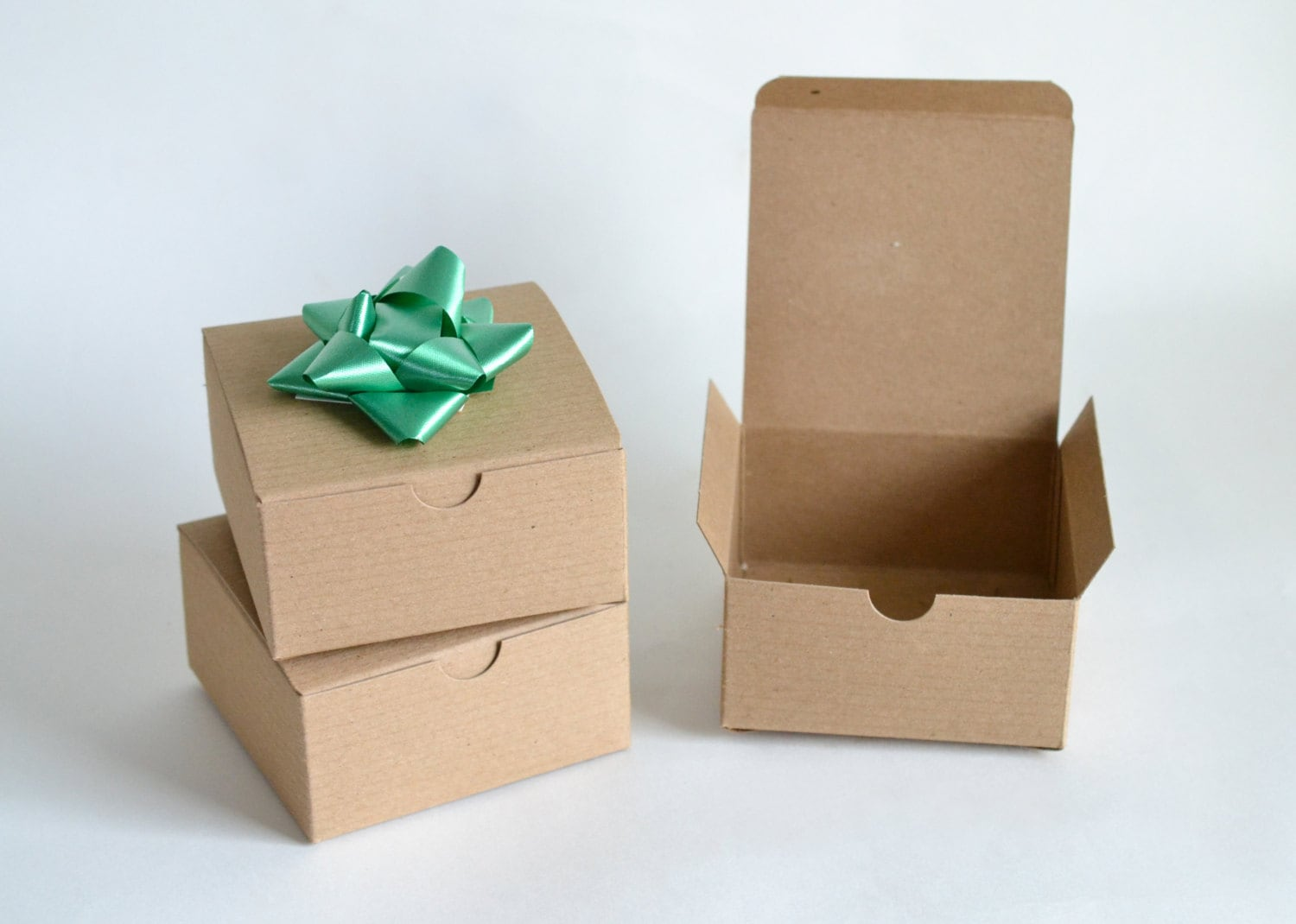 Gift boxes kraft party favor paper