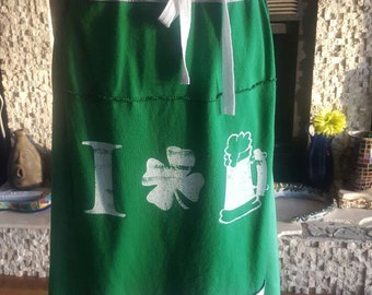 St. Patrick's Day skirt/dress
