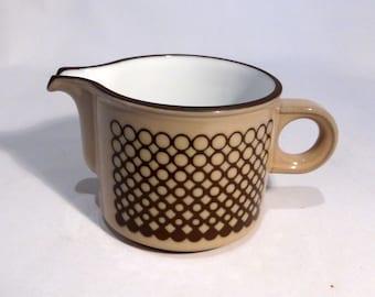 Hornsea Coral cream/milk jug – original from the 1980s