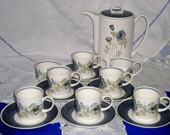 SUSIE COOPER Glen Mist Coffee Set Unrivalled Quality