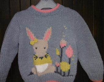 Child's sweater girl pattern mouse