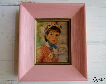 Vintage Victorian Lady Pink Picture Two