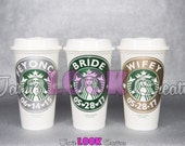 Personalized Starbucks Travel Coffee Cup/Tumbler