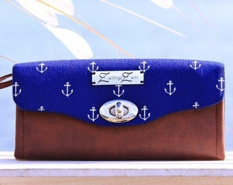 Big Wallet, Anchor De Luxe, Purse, Change Purse, the North Sea