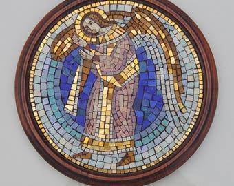 Mosaic Angel the Guardian