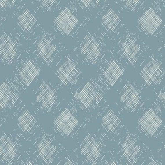 Crib Sheet >> Garden Dreamer Diamond in Blue >MADE-to-ORDER gender neutral bedding, diamond toddler sheet, bassinet sheet, mini crib sheet