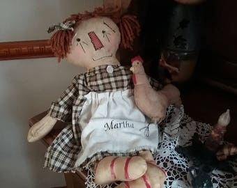 Martha - Primitive Doll