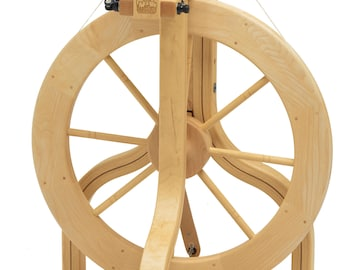 Schacht Matchless Single Treadle Spinning Wheel - FREE Shipping