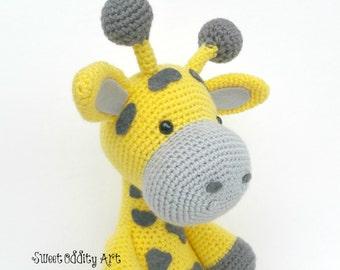 giraffe toy, crochet giraffe, giraffe crochet pattern