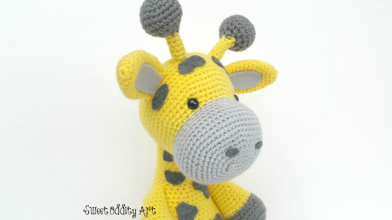 Amigurumi Hello Kitty Abeja : giraffe crochet pattern giraffe doll giraffe toy crochet