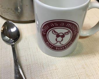 Bar Harbor souvenir vintage ceramic mug