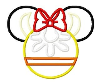 Character Inspired Clubhouse Clarabelle Cow Embroidery Applique Design