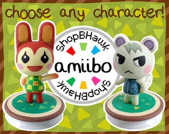 Custom Animal Crossing Amiibo