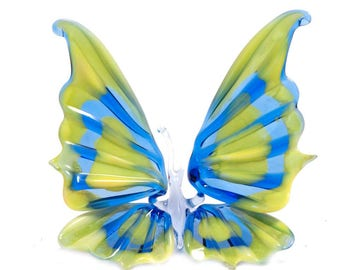 Collectible Glass Butterfly Figurine (code 302)