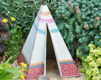 Southwestern Teepee for Miniature Garden, Fairy Garden