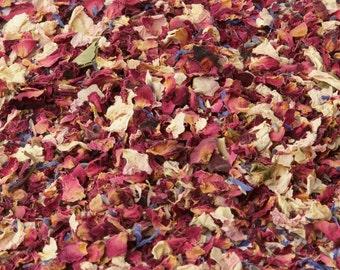 1L - Cornflower Petals Confetti - Petal Mix