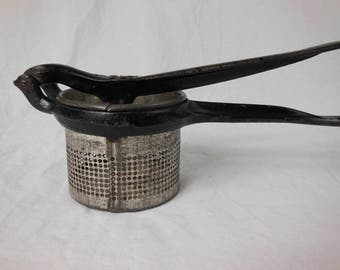 Ricer, Potato Masher, Cooking Tool, Vintage Kitchen
