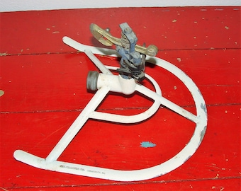 Old Lawn Sprinkler A.W.Francis Co Somerset PA. Horseshoe Shape Retro Coll