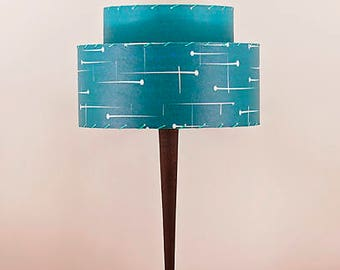 Handcrafted Retro Style Lamp and Shade 219
