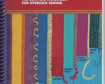 Sewing with Sergers book