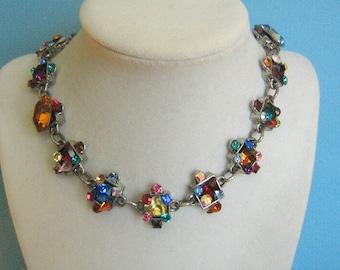 Fabulous Rodrigo Otazu Rhinestone Necklace