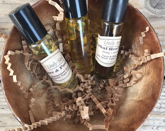 Healing Essential Body Oil Set