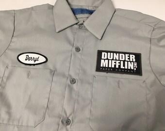 Dunder Mifflin Darryl Work Shirt