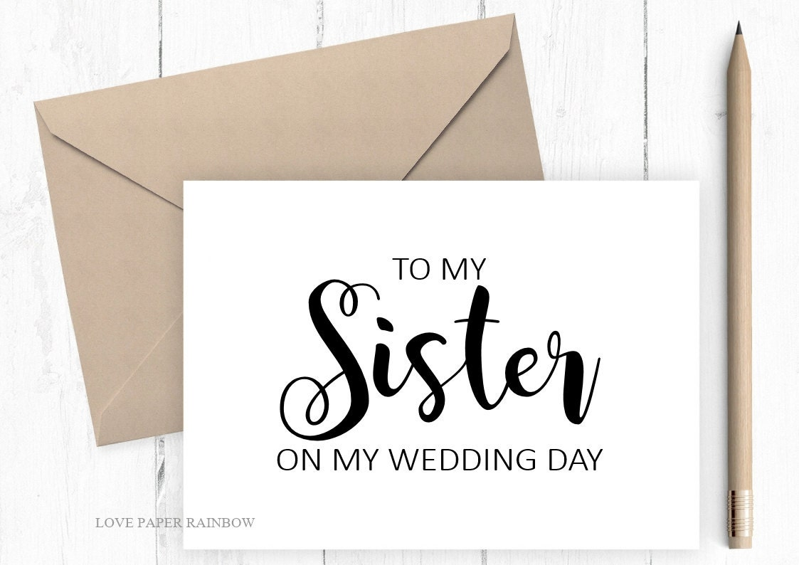 essay about my sister wedding
