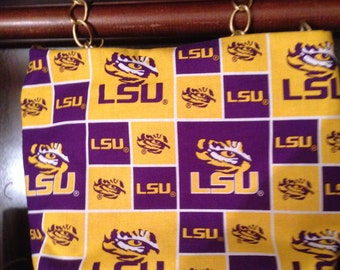LSU Crossbody small lightweight bag