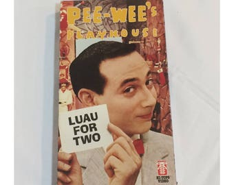 Pee Wee's Playhouse Luau for 2 VHS Tape