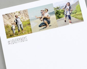 Personalised Instagram Photo Notepad