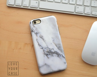 1317 // White Marble Phone Case iPhone 5 5S, iPhone 6 6S, Samsung Galaxy S5, Samsung Galaxy S6, Samsung Galaxy S7 Edge Plus
