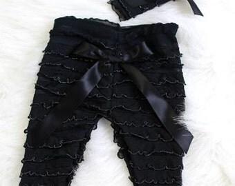 Baby Ruffle Pant Set Photo Prop