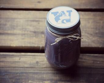 UW - Husky - University of Washington - all natural soy mason jar candle